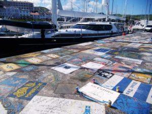 Überall hinterlassen die Crews ihre Gemälde