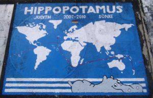 """""""Hippopotamus"""" von Sönke und Judith Röver (1000 Tage Samstag)"""