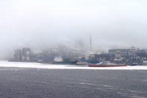 Hafen von Husum, Schweden