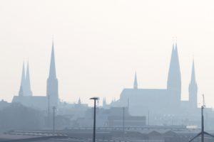 Silhouette von Lübeck