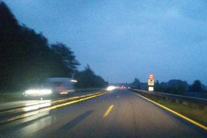 Abends Kiel und zurück