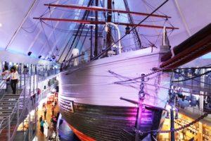 "Das erste Polarforschungsschiff ""Fram"""