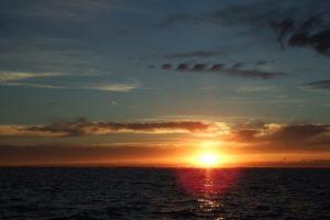 Sonnenuntergang über Skagen