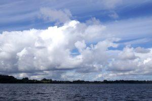 Tolle Wolkenformationen heute