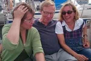 Ein lustiger Nachmittag mit den drei Mädels